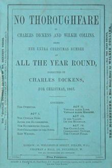 No Thoroughfare by Wilkie Collins, Charles Dickens