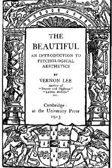 The Beautiful by Vernon Lee