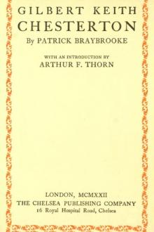 Gilbert Keith Chesterton by Patrick Braybrooke