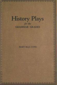 History Plays for the Grammar Grades