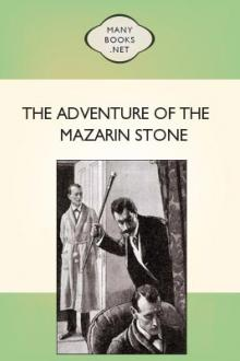 The Adventure of the Mazarin Stone by Arthur Conan Doyle