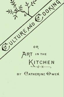Culture and Cooking by Catherine Owen
