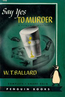 Say Yes to Murder by Todhunter Ballard