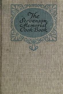 Stevenson Memorial Cook Book by Unknown