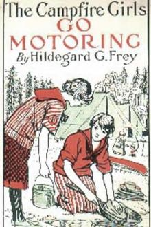 The Campfire Girls Go Motoring by Hildegard G. Frey