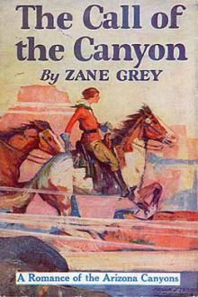 The Call of the Canyon by Zane Grey