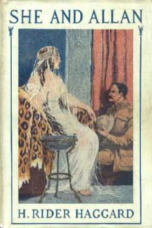 She and Allan by H. Rider Haggard
