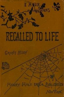 Recalled to Life by Grant Allen