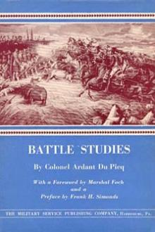 Battle Studies by Charles-Jean-Jacques-Joseph Ardant du Picq