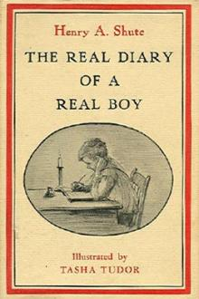 The Real Diary of a Real Boy by Henry A. Shute