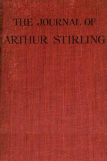 Journal of Arthur Stirling by Upton Sinclair