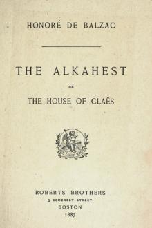 The Alkahest by Honoré de Balzac