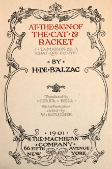 At the Sign of the Cat & Racket by Honoré de Balzac