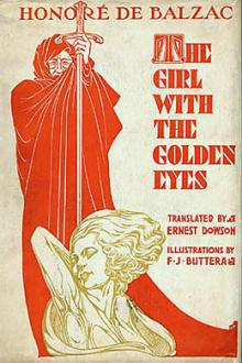 The Girl with the Golden Eyes by Honoré de Balzac