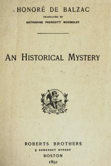 An Historical Mystery by Honoré de Balzac