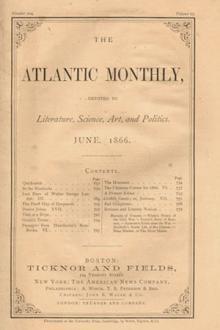 Atlantic Monthly, Vol. 9, No. 56, June, 1862