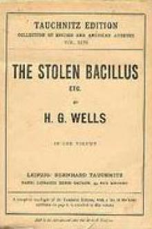 The Stolen Bacillus by H. G. Wells