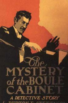 The Mystery of the Boule Cabinet by Burton E. Stevenson